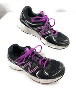 New Balance 490v2 Running Shoes Black, Purple, Silver Sneakers Women's 7... - $23.15