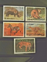 Ajman State Set of 5 Stamps Cancelled Free Shipping #700110 - $1.49