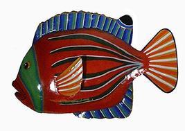 Beautiful Unique Fish Metal Hanging Wall Art - $34.59