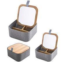 Golandstar Jewelry Organizer Box Travel Portable Jewelry Storage Case Ma... - £21.35 GBP