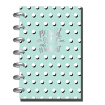 The Happy Planner Mini 12 Month Undated, Mint Green, Be Bold Brave & Bri... - $15.26