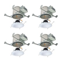 Halo Recessed Ceiling Light Retrofit Kit 6 in. Dimmable (4-Pack) - $64.34