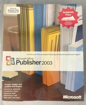 Microsoft Office Publisher 2003 Windows 32 English AE CD for Windows 2000 or XP - $44.54