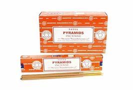 ABN Fashion Satya Pyramids Sticks Incense Natural Fragrance Hand Rolled ... - $17.54