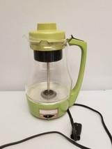 Vintage Proctor Silex Electric Glass Percolator 9 Cup Coffee Pot Retro G... - $44.54