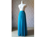 Maxi tulle skirt wedding blue 23a thumb155 crop