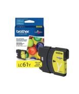 NEW Brother LC 61 Yellow Ink Cartridge Standard LC61YS 325 Pages - $17.95