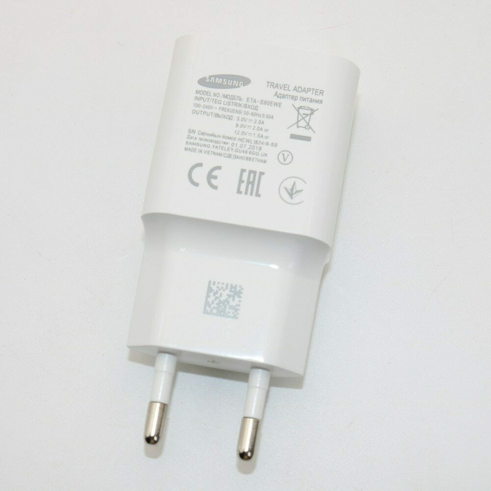 Original for Samsung Galaxy Fast Charger Travel Wall 9V2A or 5V2A charge image 3