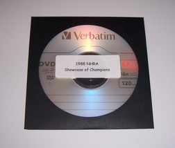 Drag Racing DVD 1988 NHRA Showcase Of Champions Top Fuel-Funny Car-Pro S... - $6.00