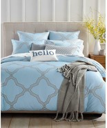 $235.00 Charter Club Damask Designs Tile Geo 300TC  3-pc.  Comforter Set... - $94.05