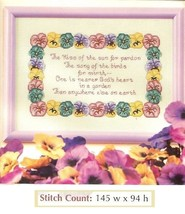 THE KISS OF THE SUN  -  CROSS STITCH PATTERN ONLY HM - SYW - $6.39
