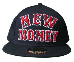 Rocksmith Team New Money 59FIFTY new Era Navy Red Fitted Baseball Hat Cap image 1