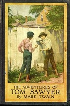 The Adventures of Tom Sawyer by Mark Twain Harper & Brothers 1924 Hardcover - $14.00