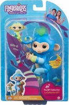 Fingerlings Baby Monkey & Mini BFFs - Billie & Aiden (Blue-Green) - Inte... - $15.79
