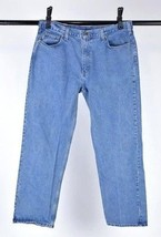 CARHARTT Blue Denim Classic Straight Leg Jeans Work Pants Mens Size 40 x 33 - $24.74