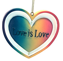 Valentine's Day Love is Love Ornament By Kurt Adler-Holiday! - $10.93