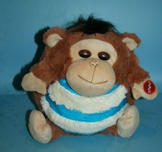 Jay At Play MONKEY MushaBelly Snoozems Plush Stuffed Animal Doll Lovey S... - $23.19