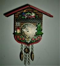 Little See/Saw wind up Novelty Clock,Cuckoo clock shop item - $39.00