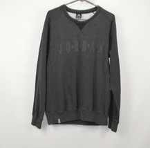 Vintage Nike Jordan Mens Large Spell Out Crewneck Sweatshirt Basketball ... - $41.53