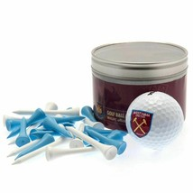 WEST HAM UNITED FC GOLF GIFT SET. GOLF BALL AND TEES - $20.29