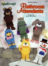 Bathroom Attendants in Plastic Canvas by Sandra Maxfield Needlecraft Shop#983015 - $7.95
