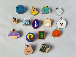 Disney Official Trading Pins Lanyard Miscellaneous Collectible Lot of 15 - $21.19