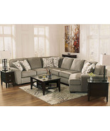 HUNTER - 4pcs Modern Gray Fabric Sofa Couch Sectional Set Living Room Fu... - $1,638.74