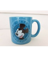 Disney Store 3D Mickey Mouse In Charge 20oz Coffee Mug - $8.51