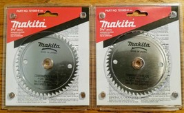"2 NEW MAKITA 721003-8 COMBINATION SAW BLADE 3-3/8"" x 50 STEEL TEETH - $18.99"