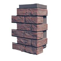NextStone Faux Polyurethane Brick Outside Corner - Antique Red - 4 per box - $58.46