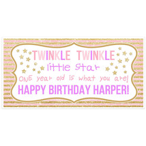 Twinkle Twinkle Little Star One Year Old is Wha... - $38.50