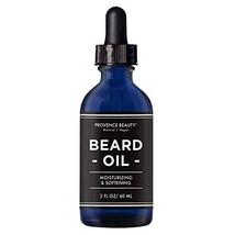 Provence Beauty Beard Oil - All Natural Fragrance Free Olive, Sunflower & Jojoba