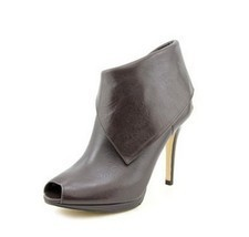 Michael Michael Kors Kendra Open Toe Open Toe Leather Bootie Size 7.5M US - $128.70