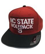 NC State Wolfpack Adidas Flatbrim Baseball Cap Hat - Embroidered - Men's - $21.34