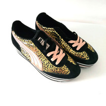 Puma Ortho EcoLite Gold Pink Leather Textile Fashion Sneakers Sz 7 Runne... - $47.99