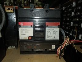 GE TJ4V2606 600A 3p 600VAC Circuit Breaker w/ LI MicroVersaTrip 120V Shunt & Aux - $1,200.00