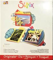 NEW! Sizzix Originals Album Cover & Page Die #656359