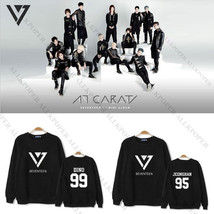 Kpop Seventeen CARAT Sweater Vernon Hoodie Unisex Vernon Pullover Sweate... - $12.99