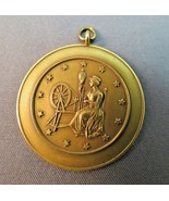 Antique Solid 14k Yellow Gold Pendant 8.2g Hist... - $346.49