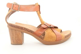 Dansko Dominique Leather Elegant Sandals Sand Women's Size EU 39() - $121.20