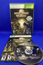 Mortal Kombat vs. DC Universe (Microsoft Xbox 360, 2009) CIB Complete, Tested! - $5.31