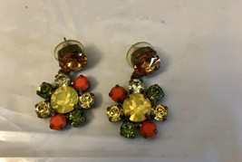 Vintage Frangos Earrings - $14.85