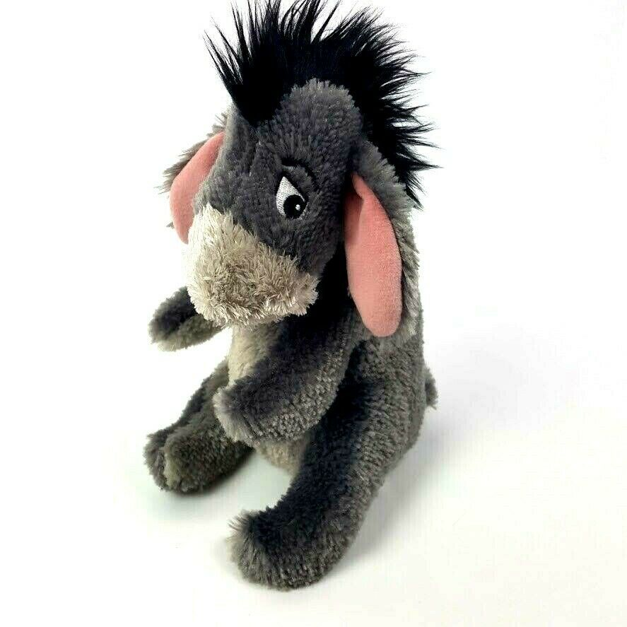 "Winnie The Pooh Eeyore 8"" Plush Detachable Tail Authentic Disney Parks Stuffed"