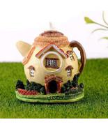 1Pcs Mini Resin House Miniature House Fairy Garden Micro Landscape Home ... - £9.84 GBP