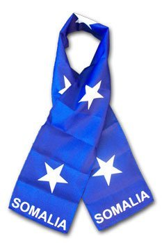 Somalia flag scarf 10528