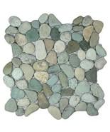 Sea Green Pebble Tile - $9.66
