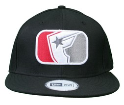 Famous Stars & Straps x Flymode Black Major League New Era Snapback Baseball Hat image 1