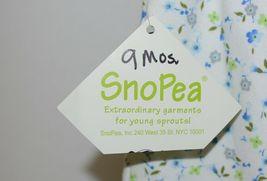 SnoPea Two Piece Flowered Sleeveless Shirt Light Blue Pants Size 9 months image 5