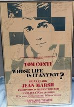 ORIGINAL TONY AWARD WINNER AUTOGRAPHED WINDOW CARD- WHOSE LIFE IS IT ANY... - $374.95
