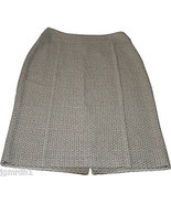 NWT ST. JOHN Collection skirt woven career 8 $895 designer luxury designer - $290.99